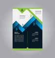 flyer brochure poster real estate modern design vector image vector image