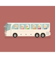 Seniors Travel by Bus vector image