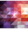 abstract geometry triangles shining pattern
