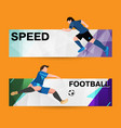 abstract sport banner on a light bright background vector image
