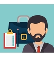 Business consulting graphic vector image vector image