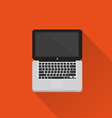 Computer icon minimal style vector image