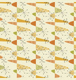 cute middle age geometric seamless pattern