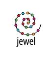 logo jewel vector image vector image