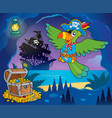 pirate cove topic image 1 vector image vector image