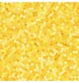 Simple background consisting of small yellow vector image