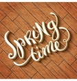 Spring never ends vector image