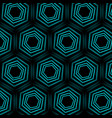 turquoise optical background vector image