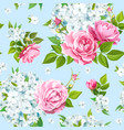flox flower seamless vector image