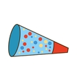 garland celebration party icon vector image vector image