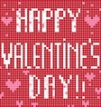 Happy Valentine's Day Card vector image vector image