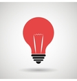 lightbulb isolated design vector image