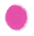 Pink acrylic paint circle vector image vector image