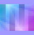 purple blue grid mosaic background creative vector image vector image
