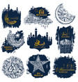 ramadan kareem generous ramadan background for vector image vector image