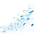 digital hitech abstract vector image vector image