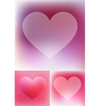 Heart Abstract background vector image vector image