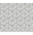 Monochrome texture with triangles vector image vector image