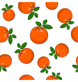 Seamless Pattern of Orange vector image vector image