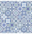 Seamless pattern of square mosaics vector image vector image