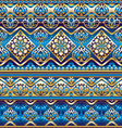 silk blue ornament vector image vector image