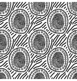 spotted pattern vector image vector image