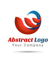 Abstract Logo Design Template Creative Concept vector image vector image