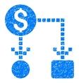 Cashflow Grainy Texture Icon vector image vector image
