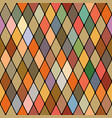 harlequins golden autumnal seamless pattern vector image vector image