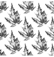 Maple leaves seamless pattern vector image vector image