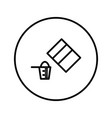 pack powder and measuring cup icon editable vector image