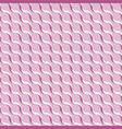pink abstract wavy 3d-like background vector image vector image