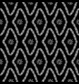 seamless pattern tribal rhombus vector image