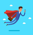 super business man vector image