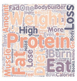 Why High Protein Diets Won t Help You Lose Weight vector image vector image