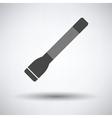 Police flashlight icon vector image