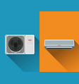 air condition system vector image