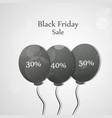 black fridy background vector image