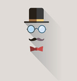 gentlemen vintage man design element vector image