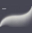 halftone rhombus abstract geometric technology vector image vector image