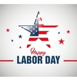 Happy labor day poster icon
