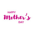 happy mother s day poster or banner vector image vector image
