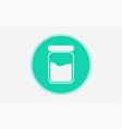 jar icon sign symbol vector image vector image