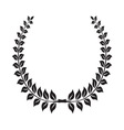 Laurel Wreath icon4 vector image