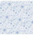 Snowflakes patternWinter laceChristmasNew year vector image vector image