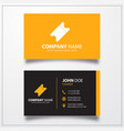 Ticket icon business card template