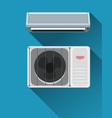 air condition system vector image vector image