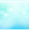 blur blue abstract image with shining lights vector image vector image