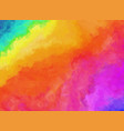 bright rainbow color abstract polygonal background vector image vector image