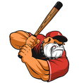 Ferocious Bulldog ballplayer